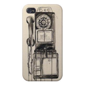 Caja del teléfono de dial del vintage iPhone4 iPhone 4/4S Fundas