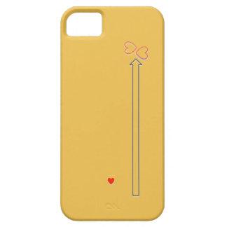 Caja del teléfono de la dirección del amor iPhone 5 Case-Mate fundas