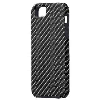 Caja del teléfono de la fibra de carbono iPhone 5 Case-Mate carcasas
