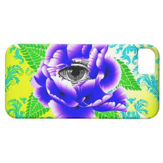 Caja del teléfono de La Fleur de la Sagesse Funda Para iPhone SE/5/5s