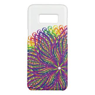 Caja del teléfono de la flor del arco iris funda de Case-Mate para samsung galaxy s8