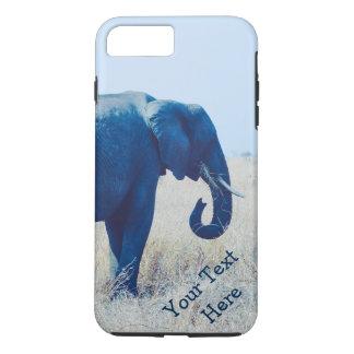 Caja del teléfono de la foto del elefante  -- funda para iPhone 8 plus/7 plus