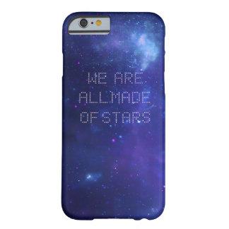 Caja del teléfono de la galaxia de Moby Funda De iPhone 6 Barely There