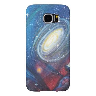 Caja del teléfono de la galaxia funda samsung galaxy s6