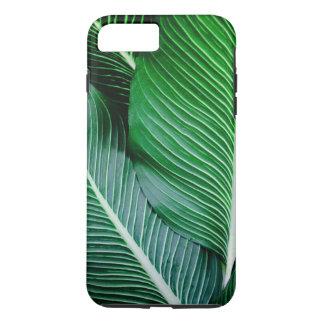 Caja del teléfono de la hoja de la palmera funda para iPhone 8 plus/7 plus