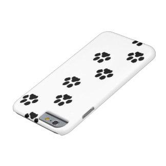 Caja del teléfono de la impresión de la pata del funda barely there iPhone 6