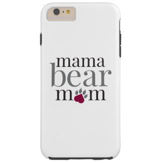 Caja del teléfono de la mamá de Mamabear Funda Resistente iPhone 6 Plus