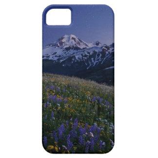 caja del teléfono de la montaña del prado iPhone 5 Case-Mate fundas
