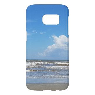 Caja del teléfono de la playa funda samsung galaxy s7