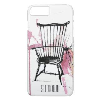 Caja del teléfono de la silla de Windsor de la Funda Para iPhone 8 Plus/7 Plus