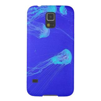 Caja del teléfono de las medusas funda para galaxy s5