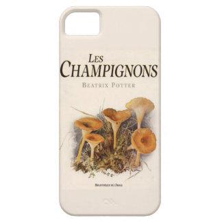 Caja del teléfono de los champiñones de Les Funda Para iPhone SE/5/5s