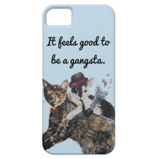Caja del teléfono de los gatos de Gangsta Funda Para iPhone SE/5/5s