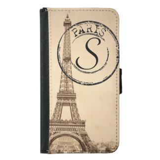 Caja del teléfono de París del vintage