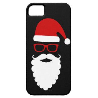 Caja del teléfono de Santa del inconformista iPhone 5 Funda