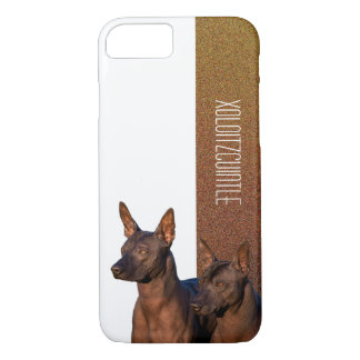 Caja del teléfono de Xoloitzcuintle Funda Para iPhone 8/7