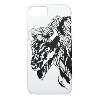 Caja del teléfono del búfalo funda iPhone 7