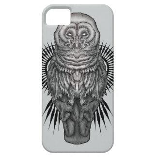 caja del teléfono del búho iPhone 5 Case-Mate fundas
