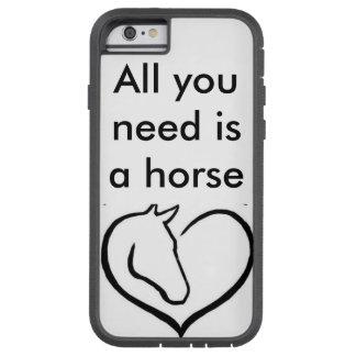 Caja del teléfono del caballo para toda la gente funda tough xtreme iPhone 6