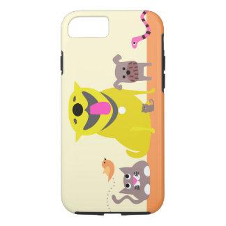 Caja del teléfono del canguro del mascota funda iPhone 7