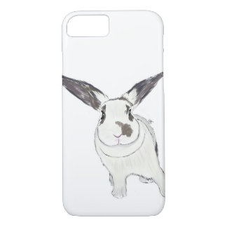 Caja del teléfono del conejito del conejo, ejemplo funda para iPhone 8/7