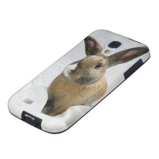 Caja del teléfono del conejo de conejito para la g funda galaxy s4