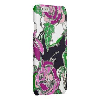 caja del teléfono del diseñador - púrpura