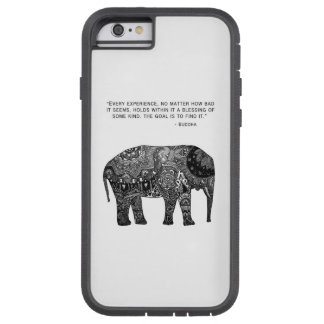Caja del teléfono del elefante de Buda de la Funda Tough Xtreme iPhone 6