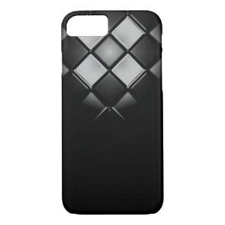 Caja del teléfono del estilo del tablero de damas funda iPhone 7