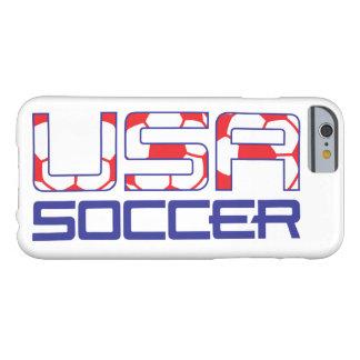Caja del teléfono del fútbol de los E.E.U.U. Funda Barely There iPhone 6