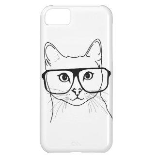 Caja del teléfono del gato del inconformista carcasa para iPhone 5C