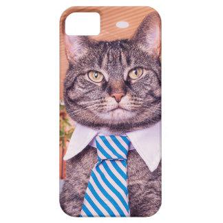 Caja del teléfono del gato del negocio funda para iPhone SE/5/5s