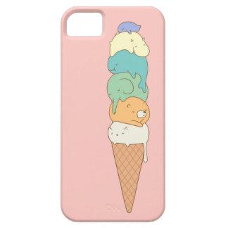 """Caja del teléfono del helado de la """"pila animal"""" iPhone 5 Case-Mate protector"""