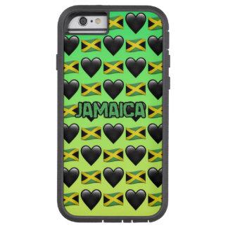 Caja del teléfono del iPhone 6/6s de Jamaica Emoji Funda Tough Xtreme iPhone 6