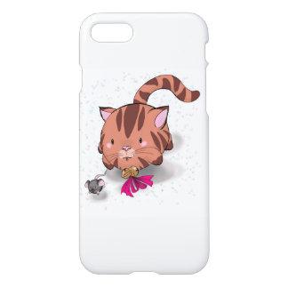 Caja del teléfono del iPhone 7 del gato y del Funda Para iPhone 8/7