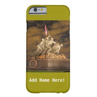 Caja del teléfono del monumento de guerra de Iwo Funda Barely There iPhone 6