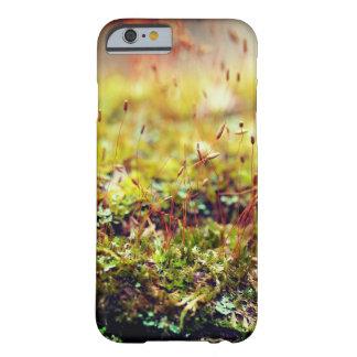 Caja del teléfono del musgo del Para arriba-Cierre Funda Barely There iPhone 6