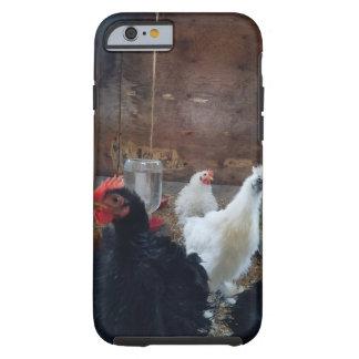 Caja del teléfono del pollo funda resistente iPhone 6
