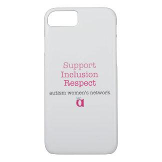 Caja del teléfono del respecto de la inclusión de funda iPhone 7
