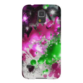 Caja del teléfono del salpicón del color funda galaxy s5