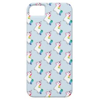 Caja del teléfono del unicornio del arco iris funda para iPhone SE/5/5s