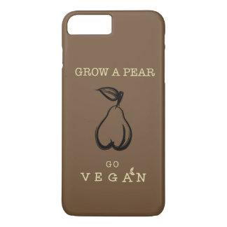 Caja del teléfono del vegano. Crezca un diseño de Funda Para iPhone 8 Plus/7 Plus