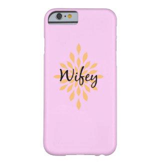 caja del teléfono del wifey funda barely there iPhone 6