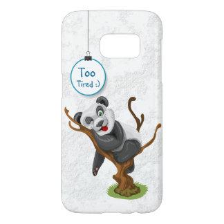 Caja del teléfono móvil de la panda para el iphone funda samsung galaxy s7