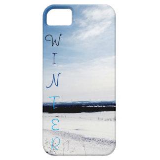 Caja del teléfono móvil del invierno funda para iPhone SE/5/5s