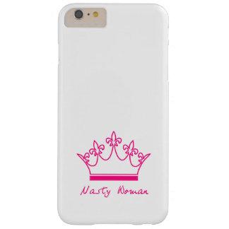 Caja desagradable del teléfono de la mujer funda barely there iPhone 6 plus