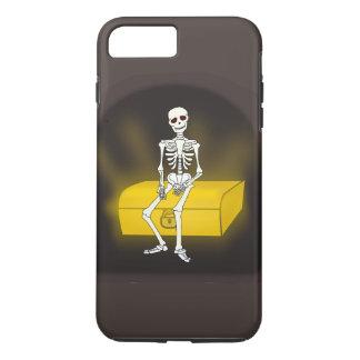 Caja divertida del teléfono 6 del esqueleto I del Funda iPhone 7 Plus