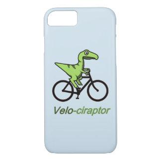 caja divertida del teléfono del Velociraptor Funda Para iPhone 8/7