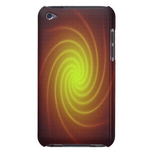 Caja dura de neón roja y amarilla de iPod Shell iPod Case-Mate Coberturas