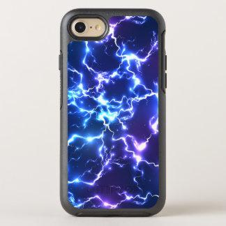 Caja eléctrica fresca azul púrpura del iPhone 7 de Funda OtterBox Symmetry Para iPhone 7